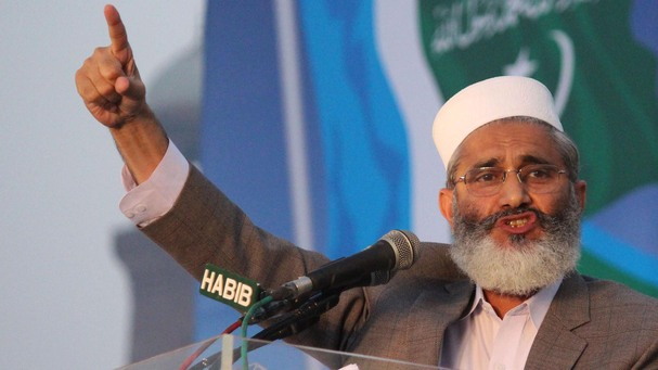 Siraj-ul-Haq, head of the Pakistan branch of Jamat-e-Islami