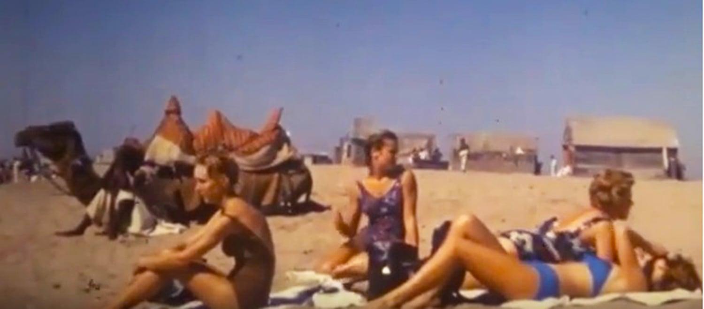 Karachi beach 1960s